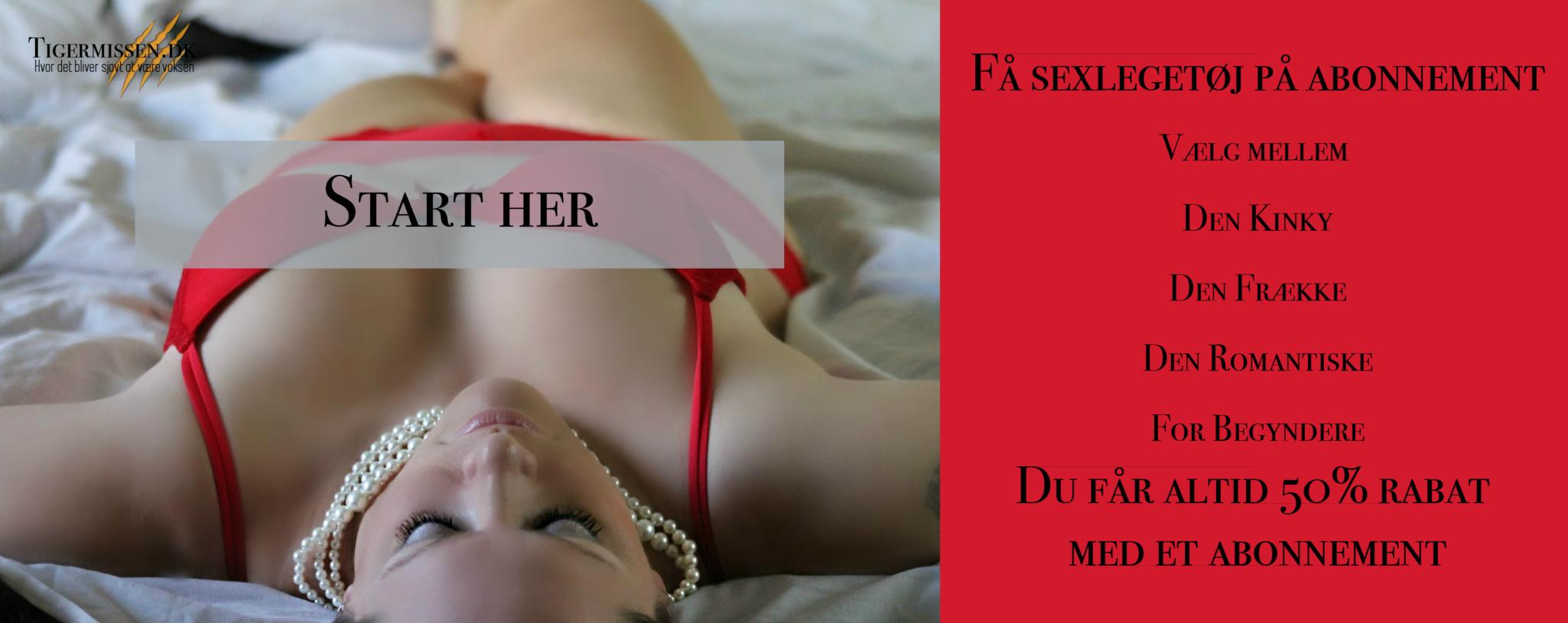 sexlegetøj abonnement
